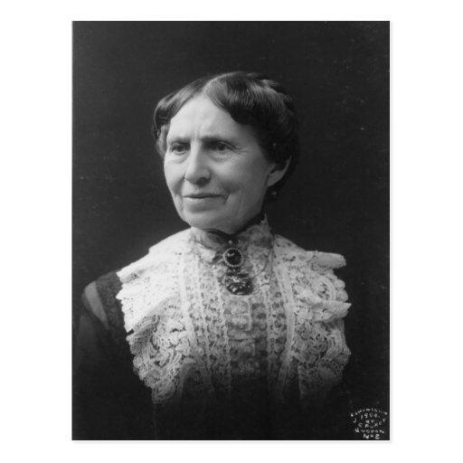 Retrato de Clara Barton más adelante en vida Tarjeta Postal
