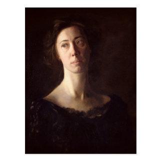 Retrato de Clara J. Mather Postal