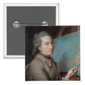 Retrato de Claude Dupin Pin Cuadrado