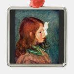 Retrato de Cocos de Pedro Renoir Ornamentos Para Reyes Magos