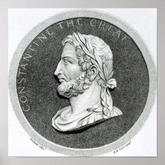 Retrato de Constantina el grande Póster