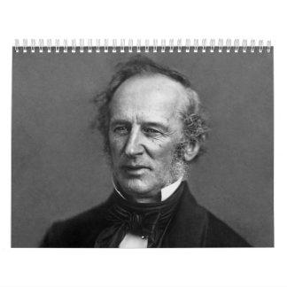 Retrato de Cornelio Vanderbilt del comodoro circa Calendario