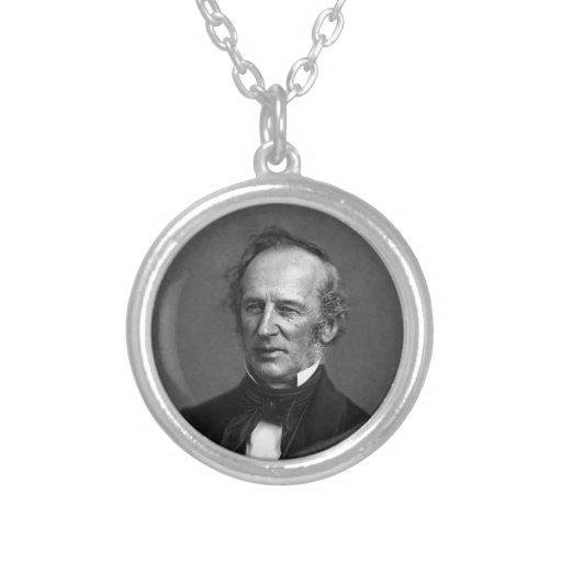 Retrato de Cornelio Vanderbilt del comodoro circa  Collares Personalizados