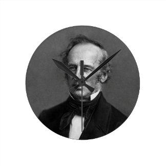 Retrato de Cornelio Vanderbilt del comodoro circa  Reloj
