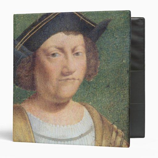 """Retrato de Cristóbal Colón Carpeta 1 1/2"""""""