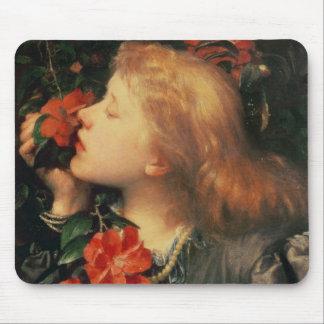 Retrato de dama Ellen Terry c.1864 Mousepad