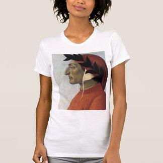 Retrato de Dante Camisetas