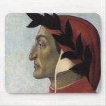 Retrato de Dante Tapetes De Raton