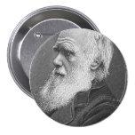 Retrato de Darwin Pin Redondo 7 Cm
