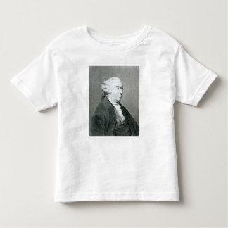 Retrato de David Hume Playera De Bebé