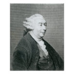 Retrato de David Hume Póster