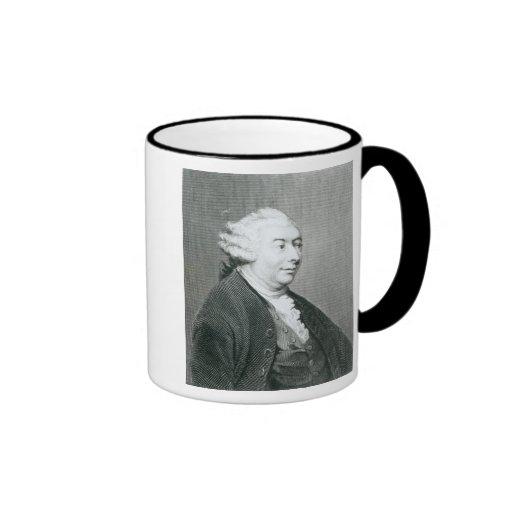 Retrato de David Hume Taza