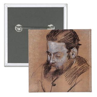 Retrato de Diego Martelli, 1879 (tiza en el papel) Pins