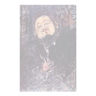 Retrato de Diego Rivera de Modigliani Amedeo Papelería Personalizada