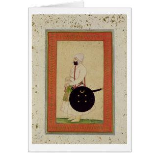 Retrato de Dilir Khan, c.1760, del Cli grande Tarjetón