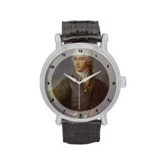 Retrato de Dmitry Levitzky- de Y.I. Bilibin Relojes De Mano