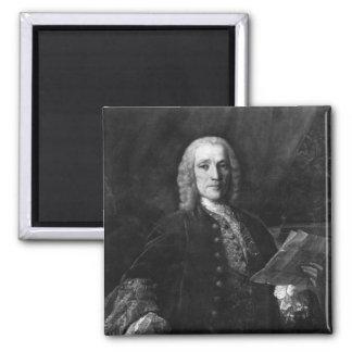 Retrato de Domingo Scarlatti Imán Cuadrado
