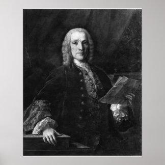 Retrato de Domingo Scarlatti Póster