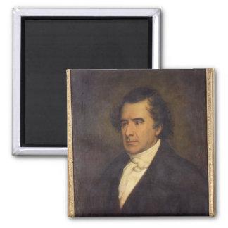 Retrato de Dominique Francois Jean Arago 1842 Imán Cuadrado