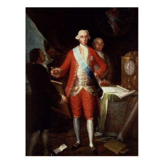 Retrato de Don Jose Monino y Redondo I Tarjeta Postal