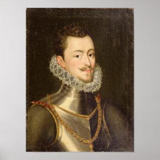 Retrato de Don Juan de Austria Posters