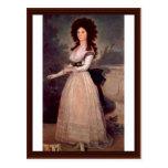 Retrato de Doña Tadea Arias De Enríquez Postal