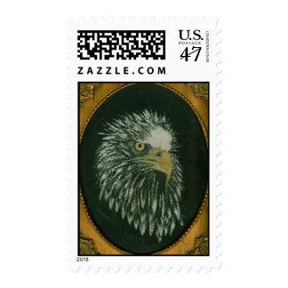 Retrato de Eagle Sellos Postales