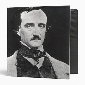 """Retrato de Edgar Allan Poe Carpeta 1 1/2"""""""