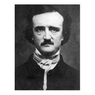 Retrato de Edgar Allan Poe del vintage Tarjeta Postal