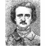 Retrato de Edgar Allan Poe Escultura Fotografica