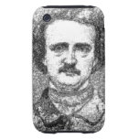 Retrato de Edgar Allan Poe Tough iPhone 3 Cobertura