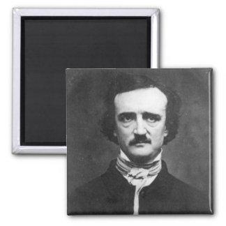 Retrato de Edgar Allan Poe Imán De Frigorifico