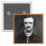 Retrato de Edgar Allan Poe Pin