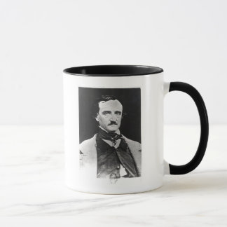 Retrato de Edgar Allan Poe Taza