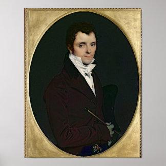 Retrato de Edme Bochet, 1811 Póster