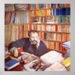 Retrato de Edmund Duranty Impresiones