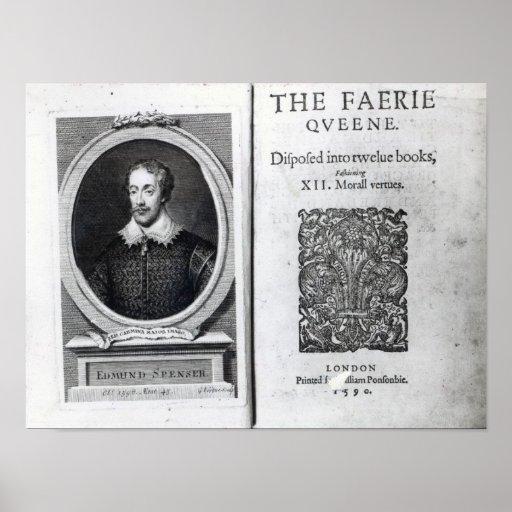 Retrato de Edmund Spenser y Posters