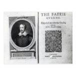 Retrato de Edmund Spenser y Tarjetas Postales