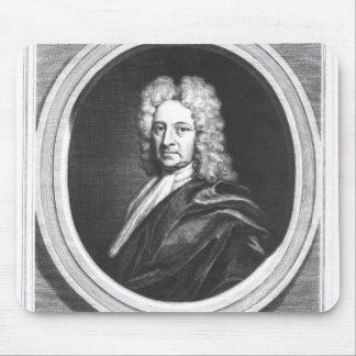 Retrato de Edmundo Halley Alfombrillas De Ratones