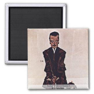 Retrato de Eduard Kosmack de Schiele Egon Imán Cuadrado