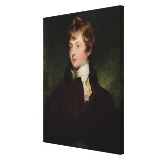 Retrato de Edward Impey (1785-1850), c.1800 (aceit Impresion De Lienzo