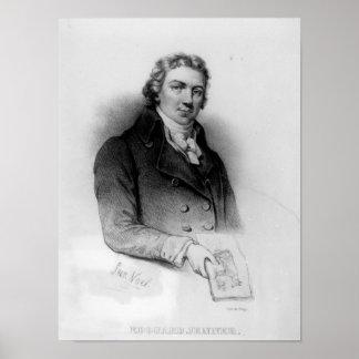 Retrato de Edward Jenner Póster