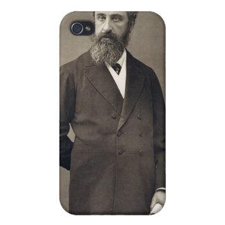 Retrato de Edward Roberto Bulwer-Lytton, 1r conde iPhone 4 Carcasas