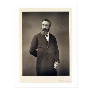 Retrato de Edward Roberto Bulwer-Lytton, 1r conde Postal