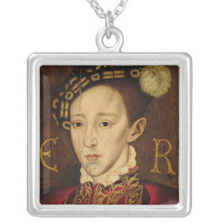 Retrato de Edward VI Collar Personalizado