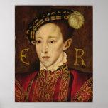 Retrato de Edward VI Posters