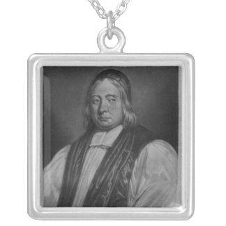 Retrato de Edward Wetenhall Pendientes Personalizados
