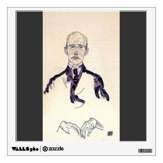 Retrato de Egon Schiele- de Karl Maylander