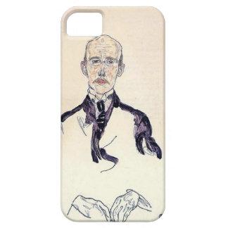 Retrato de Egon Schiele- de Karl Maylander iPhone 5 Case-Mate Cobertura