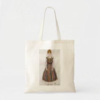 Retrato de Egon Schiele de la bolsa de asas de Edi